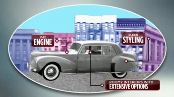 2017 Lincoln Continental TV Spot, 'History Channel: More 2 Know' [T1] - Thumbnail 5