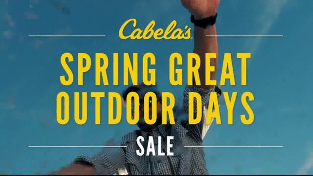 ada2718a82 Cabela s Spring Great Outdoor Days Sale TV Commercial