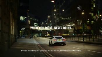 Heineken TV Spot, 'When You Drive, Never Drink' Featuring Jackie Stewart - Thumbnail 7