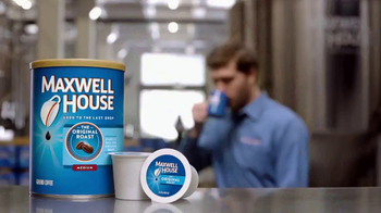 Maxwell House TV Spot, 'Hard Day's Work' - Thumbnail 6