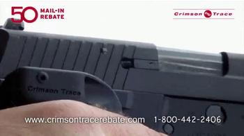 Crimson Trace TV Spot, 'Mail-In Rebate' - Thumbnail 1