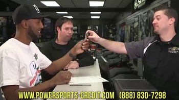 Powersports Credit TV Spot, 'You Can Be a VIP' Featuring Rickey Gadson - 8 commercial airings