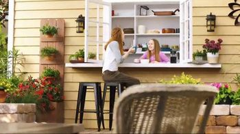 The Home Depot TV Spot, 'Make Your Outside In'