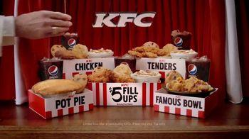KFC $5 Fill Ups TV Spot, 'Game Show'