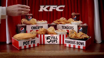 KFC $5 Fill Ups TV Spot, 'Game Show' - 6151 commercial airings