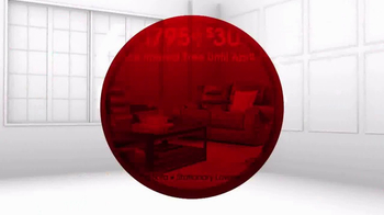 Rooms to Go Anniversary Sale TV Spot, 'Dual Reclining Leather Sofa' - Thumbnail 7