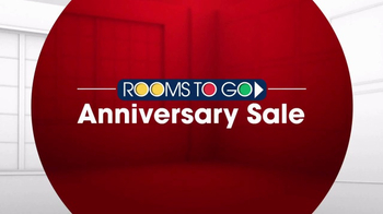 Rooms to Go Anniversary Sale TV Spot, 'Dual Reclining Leather Sofa' - Thumbnail 4