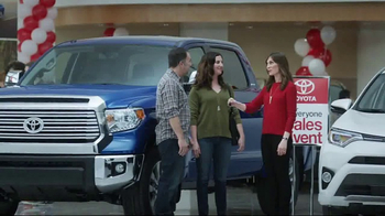 Toyota 1 for Everyone Sales Event TV Spot, '2017 Double Cab Tundra' [T2] - Thumbnail 10