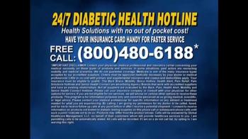 24/7 Diabetic Health Hotline TV Spot, 'Diabetic Testing Supplies' - Thumbnail 7