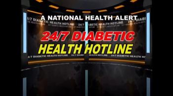 24/7 Diabetic Health Hotline TV Spot, 'Diabetic Testing Supplies' - Thumbnail 2