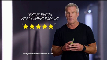MicroTouch Max TV Spot, 'Precisión' con Brett Favre [Spanish] - Thumbnail 5