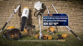 STIHL TV Spot, 'Pick Your Power: Trimmer and Attachment'