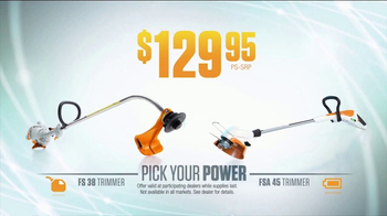 STIHL TV Spot, 'Pick Your Power: Trimmer and Attachment' - Thumbnail 4