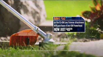 STIHL TV Spot, 'Pick Your Power: Trimmer and Attachment' - Thumbnail 5