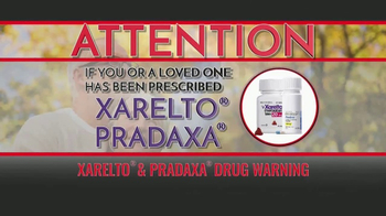 Amicus Media Group TV Spot, 'Xarelto and Pradaxa Warning' - Thumbnail 1