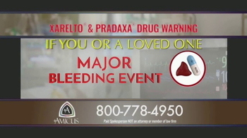 Amicus Media Group TV Spot, 'Xarelto and Pradaxa Warning' - Thumbnail 5