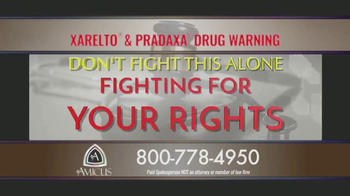 Amicus Media Group TV Spot, 'Xarelto and Pradaxa Warning' - Thumbnail 6