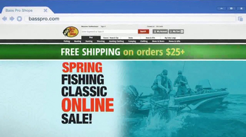Bass Pro Shops Spring Fishing Classic Online Sale TV Spot, 'Gear You Need' - Thumbnail 4