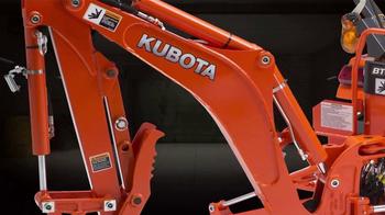 Kubota BX80 Series TV Spot, 'Changing the Game' - Thumbnail 1