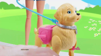 Barbie Walk & Potty Pup TV Spot, 'Time for a Stroll' - Thumbnail 2