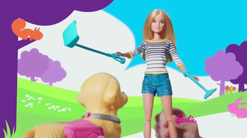 Barbie Walk & Potty Pup TV Spot, 'Time for a Stroll' - Thumbnail 4