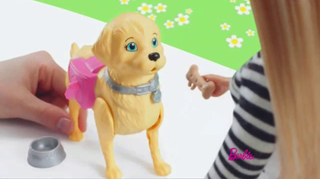 Barbie Walk & Potty Pup TV Spot, 'Time for a Stroll'