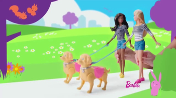 Barbie Walk & Potty Pup TV Spot, 'Time for a Stroll' - Thumbnail 7