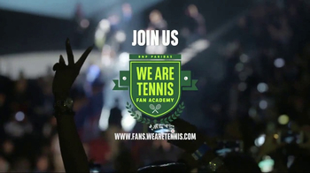 BNP Paribas We Are Tennis Fan Academy TV Spot, 'Passion'