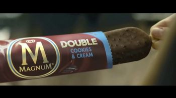 Magnum Double Cookies and Cream TV Spot, 'Unleash Your Wild Side' - Thumbnail 2