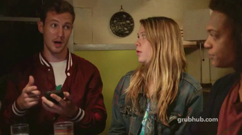 GrubHub TV Spot, 'Sushi Night'