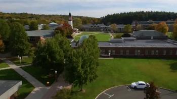 Quinnipiac University TV Spot, 'No Boundaries' - Thumbnail 1