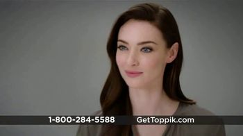 Toppik TV Spot, 'Get Thicker, Fuller-Looking Hair, Instantly'