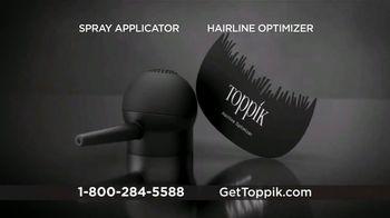 Toppik TV Spot, 'Get Thicker, Fuller-Looking Hair, Instantly' - Thumbnail 7