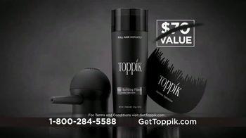 Toppik TV Spot, 'Get Thicker, Fuller-Looking Hair, Instantly' - Thumbnail 8
