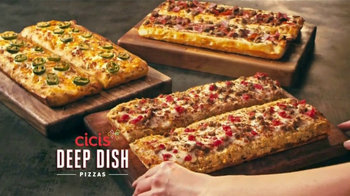 CiCi's Buffet de Pizza Sin Límites TV Spot, 'Tres Nuevas Pizzas' [Spanish]