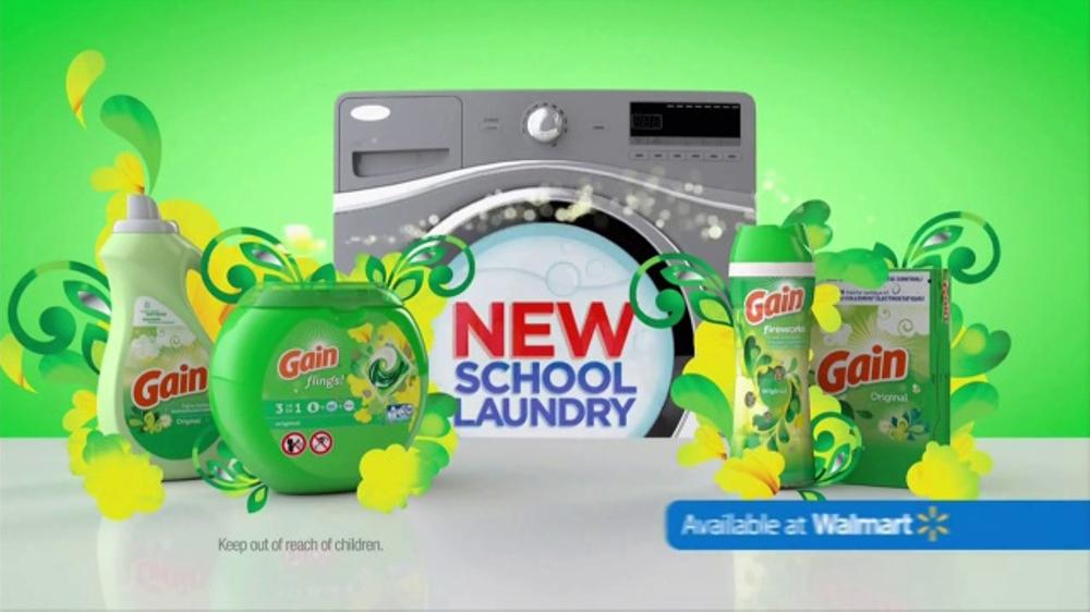 Gain Detergent TV Commercial, 'Old School vs  New School' - Video