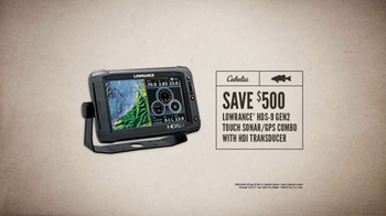 Cabela's Spring Great Outdoor Days Sale TV Spot, 'Sonar/GPS' - Thumbnail 6