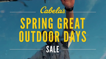 Cabela's Spring Great Outdoor Days Sale TV Spot, 'Sonar/GPS' - Thumbnail 5
