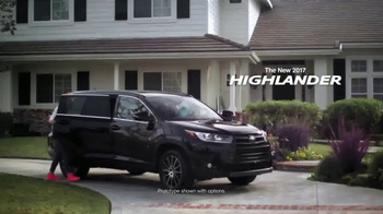 2017 Toyota Highlander TV Spot, 'Nickelodeon: Kids' Choice Awards' - Thumbnail 1