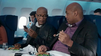 Capital One TV Spot, 'Steaks' Featuring Samuel L. Jackson, Charles Barkley - Thumbnail 3