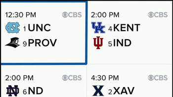 CBS Sports App TV Spot, 'Bracket Games' - Thumbnail 3