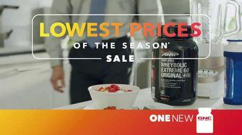 GNC Lowest Prices of the Season Sale TV Spot, 'Change'