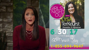 John Hagee Ministries TV Spot, 'Kendal Hagee's Girls' Night Out' - Thumbnail 7