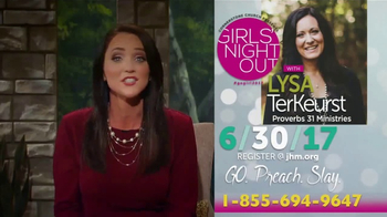 John Hagee Ministries TV Spot, 'Kendal Hagee's Girls' Night Out' - Thumbnail 8