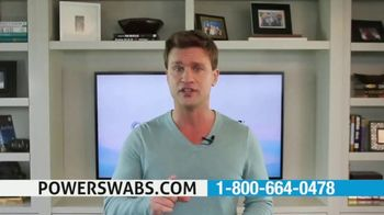 Power Swabs TV Spot, 'Restoring' Featuring Scott DeFalco - 1 commercial airings