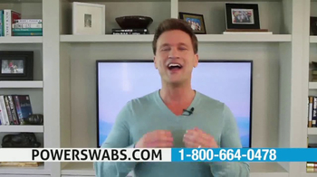 Power Swabs TV Spot, 'Restoring' Featuring Scott DeFalco - Thumbnail 1