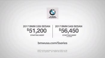 2017 BMW 5 Series Sedan TV Spot, 'Legacy' Featuring Scott Eastwood [T1] - Thumbnail 7