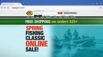Bass Pro Shops Spring Fishing Classic Sale TV Spot, 'Jersey and Life Vest' - Thumbnail 4