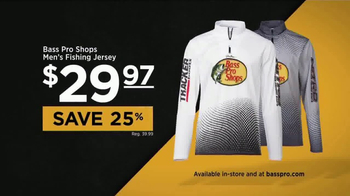Bass Pro Shops Spring Fishing Classic Sale TV Spot, 'Jersey and Life Vest' - Thumbnail 2