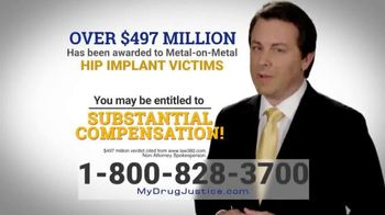 Baron & Budd, P.C. TV Spot, 'Hip Implant Victims'